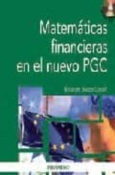matematicas financieras en el nuevo pgc (incluye cd)-elisabeth bustos contell-9788436822922