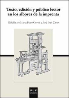 Permacultivo.es Texto, Edición Y Público Lector En Los Albores De La Imprenta Image