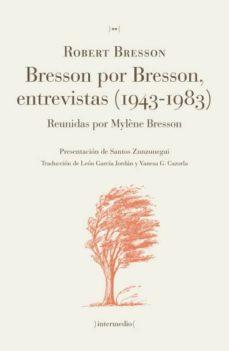 Alienazioneparentale.it Bresson Por Bresson, Entrevistas (1943-1983) Image
