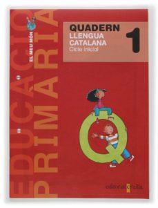 Encuentroelemadrid.es Projecte El Meu Mon 1: Quadern Llengua Catalana 1 E.p. Image