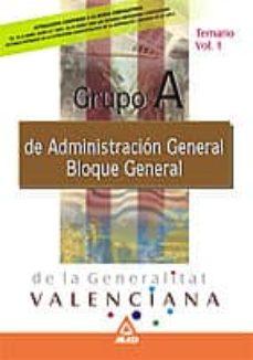 Ojpa.es Materias Comunes Vol.i Temario Grupo A Generalitat Valenciana Image