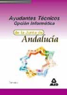 Upgrade6a.es Ayudantes Tecnicos De La Junta De Andalucia. Opcion Informatica: Temario Image