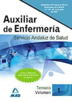 Eldeportedealbacete.es Auxiliares De Enfermeria Del Servicio Andaluz De Salud. Temario ( Vol. I) Image