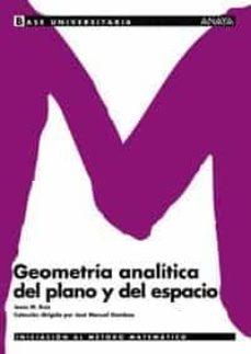 geometria analitica del plano y del espacio-jesus m. ruiz-9788466726122