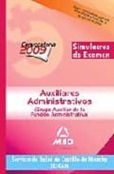 Carreracentenariometro.es Auxiliares Administrativos Del Servicio De Salud De Castilla-la Mancha (Sescam). Simulacros De Examen Image