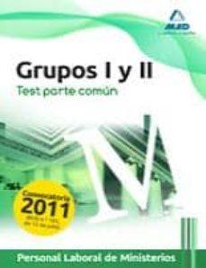 Curiouscongress.es Personal Laboral De Ministerios. Grupos I Y Ii. Test Parte Comun Image
