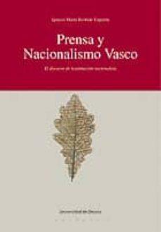 Javiercoterillo.es Prensa Y Nacionalismo Vasco: El Discurso De Legitimacion Nacional Ista Image