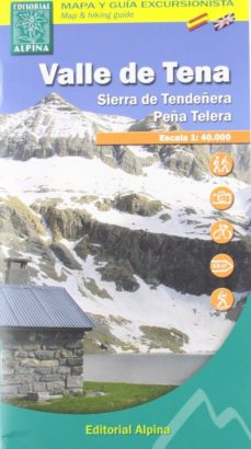 Padella.mx Valle De Tena: Mapa Excursionista Y Guia (2ª Ed.) Image