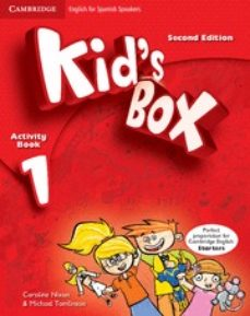 kid s box 1 for spanish speakers activity book with cd-rom and language portfolio 2nd edition-9788483238622