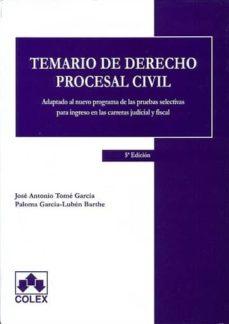 Inmaswan.es Temario De Derecho Procesal Civil ( 5ª Ed.) Image