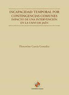 Descargar Ebook for tally 9 gratis INCAPACIDAD TEMPORAL POR CONTIGENCIAS COMUNES 9788484399322 in Spanish PDF MOBI