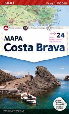 Debatecd.mx Mapa Costa Brava (Catala) Image