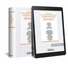 Descargar LECCIONES DE DERECHO CONSTITUCIONAL II gratis pdf - leer online