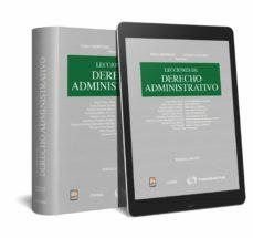 Descargar LECCIONES DE DERECHO ADMINISTRATIVO gratis pdf - leer online
