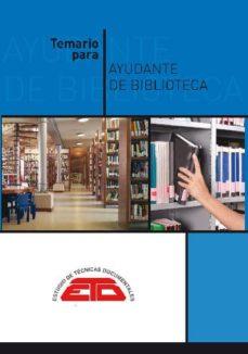 Ojpa.es Temario Para Ayudante De Biblioteca: Biblioteconomía, Historia De L Libro Y De Las Bibliotecas, Bibliografía Y Documentación Image