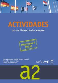 Colorroad.es Actividades Para El Marco Europeo A2 + Cd Preparacion Dele A2 Image