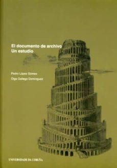 Valentifaineros20015.es El Documento De Archivo: Un Estudio Image