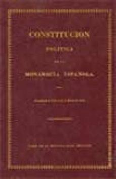 Titantitan.mx Constitucion Politica De La Monarquia Española: Cadiz, 1812 Image