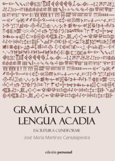 Descargar GRAMATICA DE LA LENGUA ACADIA gratis pdf - leer online