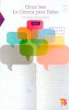Emprende2020.es Como Leer La Ciencia Para Todos. Generos Discursivos Image