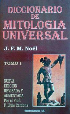 Carreracentenariometro.es Diccionario De Mitología Universal Tomo I Image