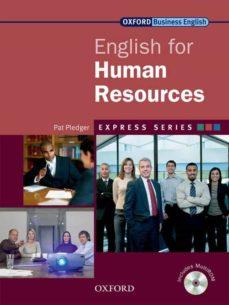 Libros y descarga gratuita. ENGLISH FOR HUMAN RESOURCES: STUDENT BOOK PACK