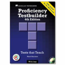 Epub ebooks para descargar gratis NEW PROFICIENCY TESTBUILDER(4TH EDITION)STUDENT´S BOOK WITH KEY AUDIO CD MACMILLAN PRACTICE ONLINE de MARK HARRISON