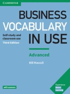 Descargar libros google libros online gratis BUSINESS VOCABULARY IN USE (3RD EDITION) ADVANCED WITH ANSWERS (Spanish Edition)
