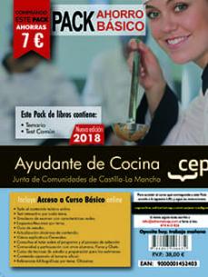 Milanostoriadiunarinascita.it Pack Ahorro Basico. Ayudante De Cocina. Junta De Comunidades De Castilla-la Mancha (Incluye Temario Y Test + Curso Basico) Image
