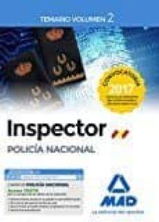 Eldeportedealbacete.es Inspector De Policia Nacional: Temario (Vol. 2) Image