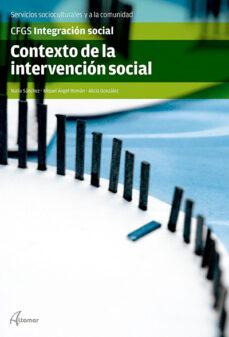 contexto de la intervención social-9788415309932
