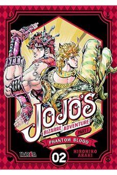 Descarga de libros para kindle JOJO S BIZARRE ADVENTURE PARTE 1: PHANTOM BLOOD 02 CHM ePub en español de HIROHIKO ARAKI