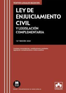 Srazceskychbohemu.cz Ley De Enjuiciamiento Civil Y Legislación Complementaria (18ª Ed. ) Image