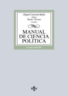 manual de ciencia politica (4ª ed.)-miquel caminal badia-9788430966332