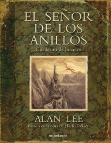 el señor de los anillos: cuaderno de bocetos-alan lee-9788445077832