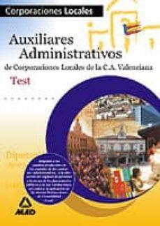 Padella.mx Auxiliares Administrativos Corporaciones Locales: Generalitat Val Enciana: Test, Temario General Image