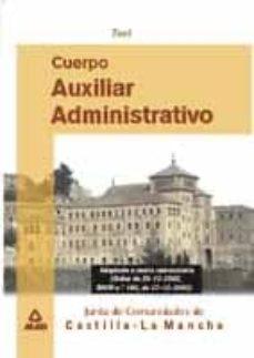Padella.mx Cuerpo Auxiliar Administrativo. Junta De Comunidades Castilla La Mancha: Test Image