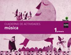 Javiercoterillo.es Cuaderno Música1º Primaria Savia Ed 2014 Castellano Image