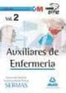 Lofficielhommes.es Auxiliares De Enfermeria Del Servicio Madrileño De Salud. Temario Vol. Ii Image