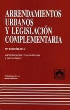Titantitan.mx Arrendamientos Urbanos Y Legislacion Complementaria (10ª Ed.) Image
