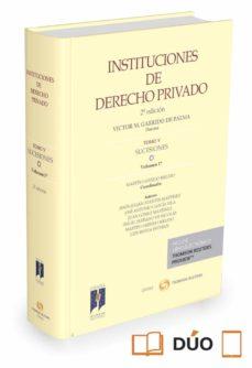 instituciones de derecho privado 5/1 sucesiones-martin garrido melero-9788490987032