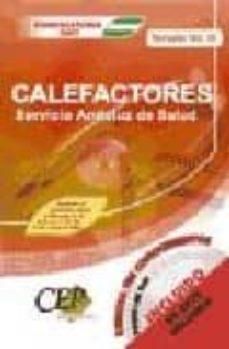 Chapultepecuno.mx Temario Vol Iii Oposiciones Calefactores Servicio Andaluz De Salud (Sas) Image