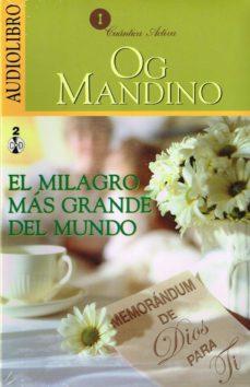 Debatecd.mx El Milagro Más Grande Del Mundo (Audiolibro) Image