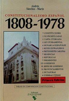 Inmaswan.es Constitucionalismo Español 1808-1978 Image