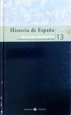 Premioinnovacionsanitaria.es Historia De España. Revolución Y Restauración 13 Image
