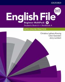 Descarga de libros pdf de google ENGLISH FILE BEGINNER (MULTIPACK) STUDENT BOOK/WORKBOOK A 4ED de  9780194029742 in Spanish CHM PDB