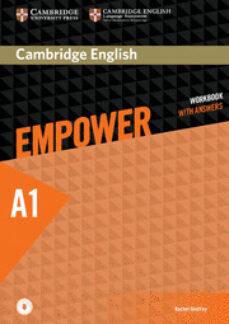 Descargar kindle books free uk CAMBRIDGE ENGLISH EMPOWER STARTER WORKBOOK WITH ANSWERS WITH DOWNLOADABLE AUDIO en español de  MOBI