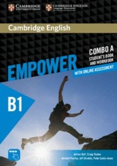 Libros en ingles descarga gratis CAMBRIDGE ENGLISH EMPOWER PRE-INTERMEDIATE COMBO A (SPLIT EDITION) (STUDENT S BOOK A & WORKBOOK A WITH ONLINE ASSESSMENT & (Spanish Edition)  9781316601242