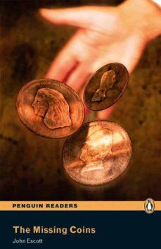 penguin readers level 1: the missing coins (libro + cd)-john scott-9781405878142