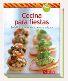 cocina para fiestas (minilibros de cocina)-9783625005742